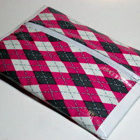 Pencil Pouch Makeup Bag Duct Tape with Zipper
