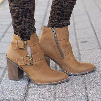 Trevur Booties by Steve Madden
