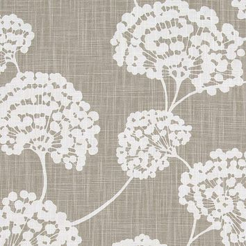 Robert Allen Fabric 240330 Toile Stems Light Grey