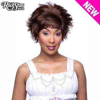RockStar Wigs® Sassi Short - Dark Brown -00713
