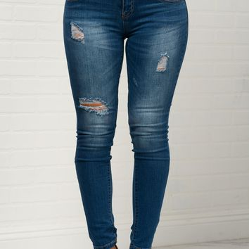 Virginia Distressed Jeans