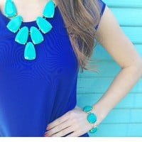 Harlow Necklace in Teal - Kendra Scott Jewelry