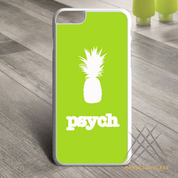 Psych pineapple white Custom case for iPhone, iPod and iPad