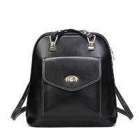 Brand Like Fashion Leather Shoulder Candy Multi Color Women Casual Back Pack  _ 8296