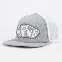 Vans Beach Girl Womens Trucker Hat Light Grey One Size For Women 26538913101