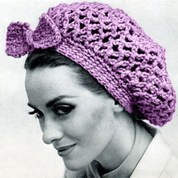 PDF Vintage snood hair net Pattern head wrap pattern crochet snood PDF Instant Download knitting supplies epsteam pink knitting pattern pdf
