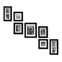 Create-a-Gallery 7-piece Frame Set (Black)