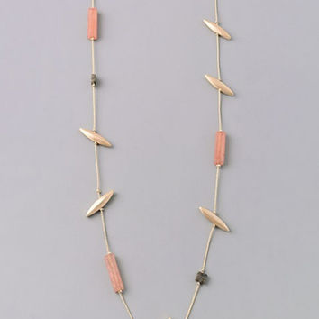 Stone Age Long Necklace 11355N