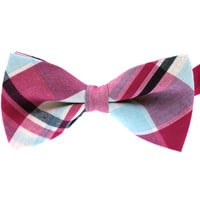 Tok Tok Designs Pre-Tied Bow Tie for Men & Teenagers (B66, T/C Cotton)