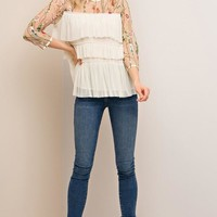 Kendra Embroidery Top