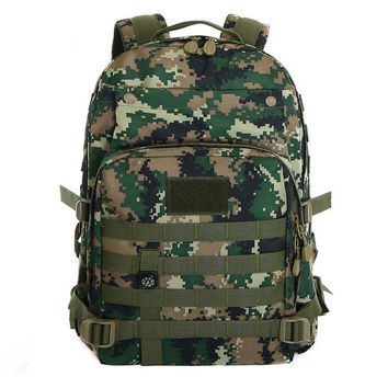 Men's Camo Military Rucksacks Climbing Camping Hiking Bag