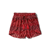 Pattern Drapey Short