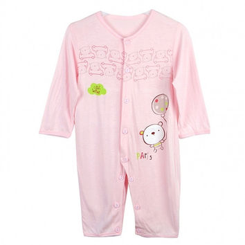 New Fashion Baby Infant Romper Sleep Jumpsuit Clothing Long Sleeve Coverall