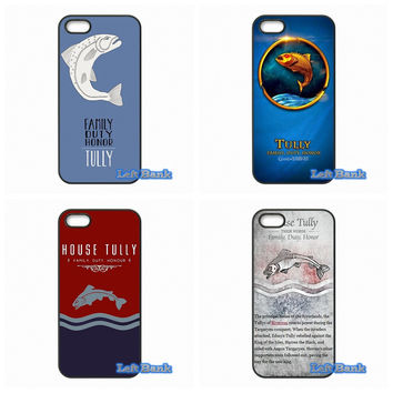 Games of Thrones House Tully Hard Phone Case Cover For Samsung Galaxy S S2 S3 S4 S5 MINI S6 S7 edge Plus Note 2 3 4 5