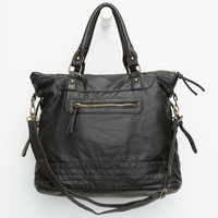Payton Pocket Tote Bag Black One Size For Women 26013710001