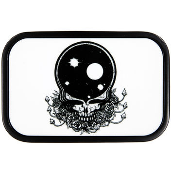Grateful Dead - Space Your Face White Belt Buckle