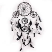 Handmade Dream Catcher with feathers wall hanging