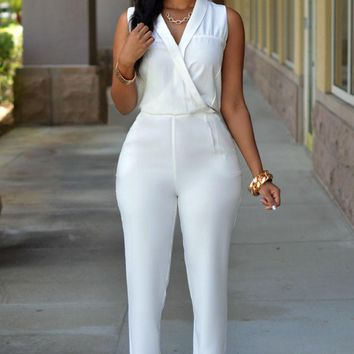 Chicloth Luxe White Jumpsuit