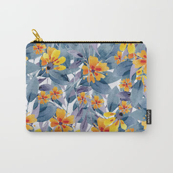 Tender Summer Carry-All Pouch by cadinera