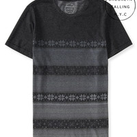 Aeropostale  Brooklyn Calling Fair Isle Stripe Tee