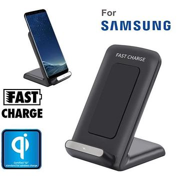 Universal Qi Fast Wireless Charger Rapid Charging