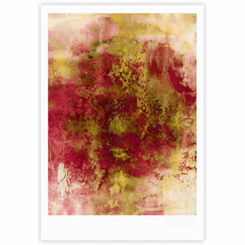 "Ebi Emporium ""Epoch 4"" Red Green Fine Art Gallery Print"