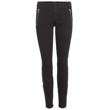 mother - zip muse skinny jeans