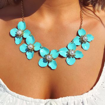 Picked For You Necklace: Turquoise