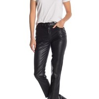 Free People | Faux Leather Waist Belt Pants | Nordstrom Rack