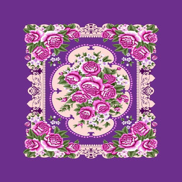 Purple Flower G008 TOR Queen Blanket - Free Shipping in the Continental US!