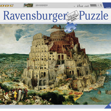 Ravensburger Adult Puzzles 5000 pc Puzzles - Brueghel the Elder: The Tower of Babel 17423