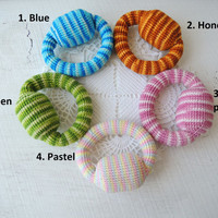 Crochet soft rattle Sensory new baby toy Teether toy todller Baby shower gifts Eco friendly teether Organic teething toy Bright gifts ideas