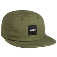 The Box Logo 6 Panel in Olive