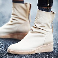 Jeffrey Campbell + Free People Womens Bardot Slouch Boot