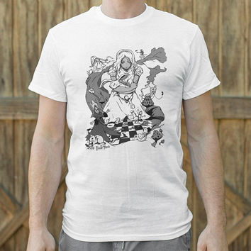 Alice In Wonderland Men's T-Shirt