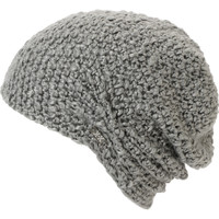 Krochet Kids Lilly Grey Crochet Beanie