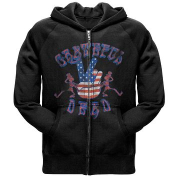 Grateful Dead - Peace Hand Zip Hoodie