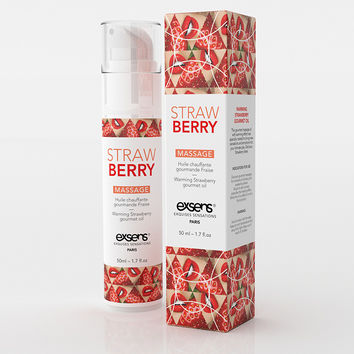 Strawberry Warming Gourmet Massage Oil