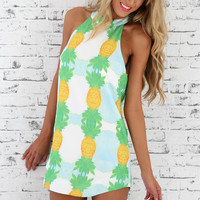 Pineapple Sunrise Dress | SABO SKIRT
