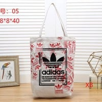 ADIDAS Women Fashion Satchel Tote Shoulder Bag Handbag