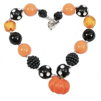 Chunky Necklace - Pumpkin
