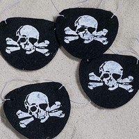 Pirate Eye Patches (Set of 12)
