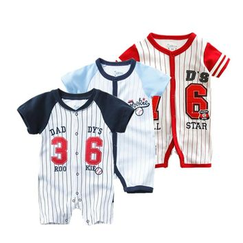 Daddy's Rookie 36 Jersey Infant Baby Onesuit Bodysuit
