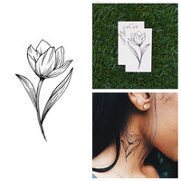 Stem From Something - Temporary Tattoo (Set of 2)
