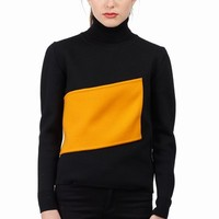 J.W. ANDERSON BANDED ROLL NECK SWEATER - WOMEN - J.W. ANDERSON - OPENING CEREMONY