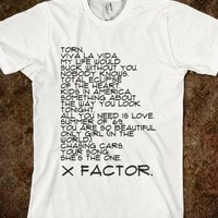 X Factor Songs! (with