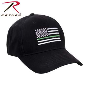 Thin Green Line Flag Low Pro Cap