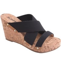 ANGELA12-Women WEDGE SANDALS