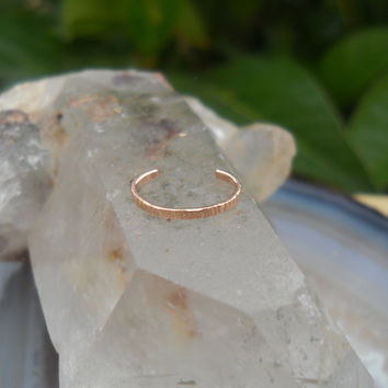 14K Rose Gold Filled Ear Cuff Hoop Earring Cartilage/catchless/tragus/helix/nose ring