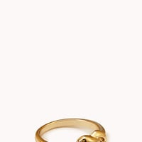 FOREVER 21 Twisted Knot Ring